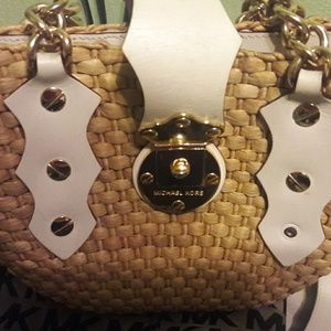 Cute Michael Kors wicker purse